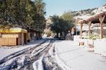 Snow in Sougia